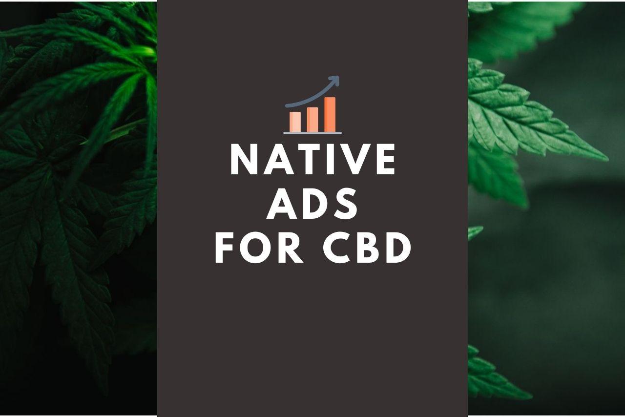 native ads for CBD